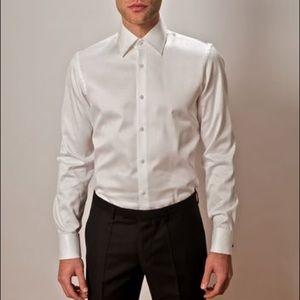 NWOT Hugo Boss Lawrence Tuxedo Dress Shirt